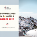 TOURISM SEASON IN GREECE 2020