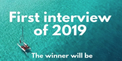 Winner of the 1st interview of 2019 JOB TRUST Contest